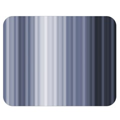 Gray Line Double Sided Flano Blanket (medium)  by Jojostore