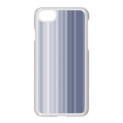 Gray Line Apple Iphone 7 Seamless Case (white)