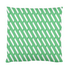 Green White Desktop Standard Cushion Case (two Sides)