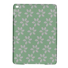 Pink Flowers On Light Green Ipad Air 2 Hardshell Cases by Jojostore