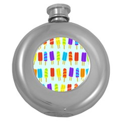 Popsicle Round Hip Flask (5 Oz)