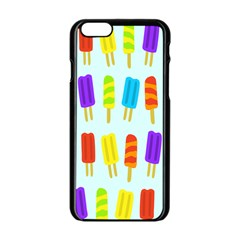 Popsicle Apple Iphone 6/6s Black Enamel Case
