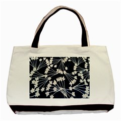 Flower Blue Jpeg Basic Tote Bag (two Sides) by Jojostore