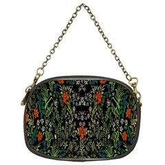 Detail Of The Collection s Floral Pattern Chain Purses (one Side)  by Jojostore