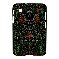 Detail Of The Collection s Floral Pattern Samsung Galaxy Tab 2 (7 ) P3100 Hardshell Case  by Jojostore