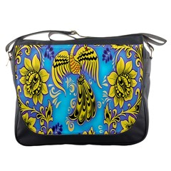 Khokhloma Birds Flowers Messenger Bags