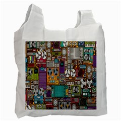 Rol The Film Strip Recycle Bag (two Side)  by Jojostore
