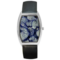 Leaf Purple Barrel Style Metal Watch by Jojostore