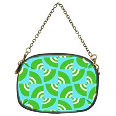 Easy Peasy Lime Squeezy Green Chain Purses (two Sides)  by Jojostore