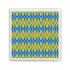 Blue Yellow Memory Card Reader (square)