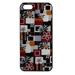 Flower 1 Apple Iphone 5 Seamless Case (black)