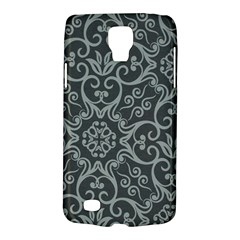 Flower Batik Gray Galaxy S4 Active