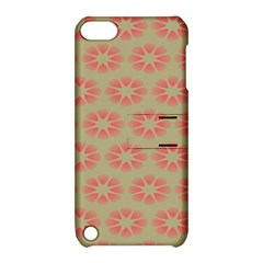 Flower Pink Apple Ipod Touch 5 Hardshell Case With Stand by Jojostore