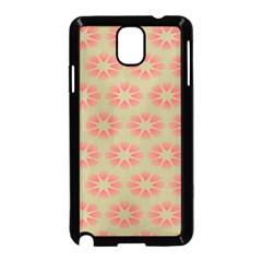 Flower Pink Samsung Galaxy Note 3 Neo Hardshell Case (black) by Jojostore