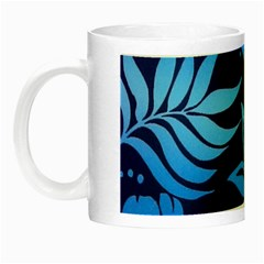 Flower Blue Night Luminous Mugs by Jojostore
