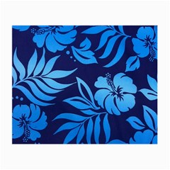 Flower Blue Small Glasses Cloth