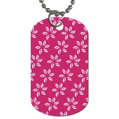 Flower Roses Dog Tag (one Side)