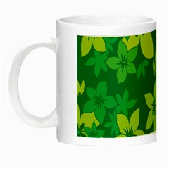 Flower Yellow Green Night Luminous Mugs by Jojostore