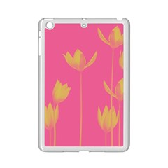 Flower Yellow Pink Ipad Mini 2 Enamel Coated Cases by Jojostore