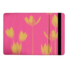 Flower Yellow Pink Samsung Galaxy Tab Pro 10 1  Flip Case by Jojostore