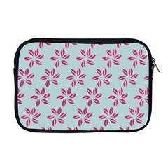 Flowers Fushias On Blue Sky Apple Macbook Pro 17  Zipper Case