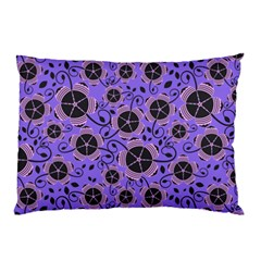 Flower Floral Purple Pillow Case (two Sides)