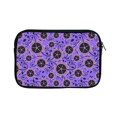 Flower Floral Purple Apple Ipad Mini Zipper Cases by Jojostore