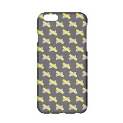 Hearts And Yellow Crossed Washi Tileable Gray Apple Iphone 6/6s Hardshell Case by Jojostore