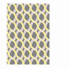 Hearts And Yellow Washi Zigzags Tileable Large Garden Flag (two Sides) by Jojostore