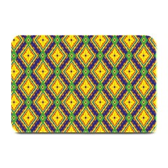 Morocco Flower Yellow Plate Mats