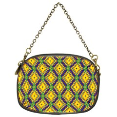 Morocco Flower Yellow Chain Purses (one Side)  by Jojostore