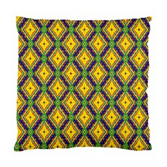 Morocco Flower Yellow Standard Cushion Case (two Sides) by Jojostore