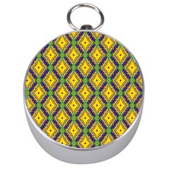 Morocco Flower Yellow Silver Compasses
