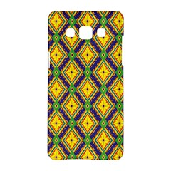 Morocco Flower Yellow Samsung Galaxy A5 Hardshell Case  by Jojostore