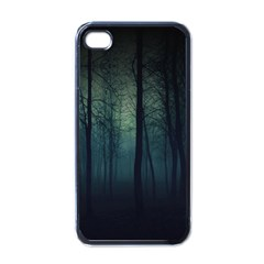 Dark Forest Apple Iphone 4 Case (black) by Brittlevirginclothing