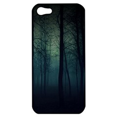 Dark Forest Apple Iphone 5 Hardshell Case by Brittlevirginclothing