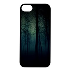 Dark Forest Apple Iphone 5s/ Se Hardshell Case by Brittlevirginclothing