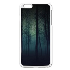 Dark Forest Apple Iphone 6 Plus/6s Plus Enamel White Case by Brittlevirginclothing