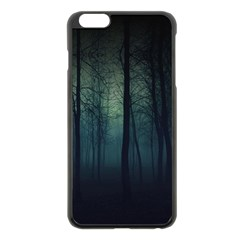 Dark Forest Apple Iphone 6 Plus/6s Plus Black Enamel Case by Brittlevirginclothing