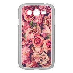 Gorgeous Pink Roses Samsung Galaxy Grand Duos I9082 Case (white)