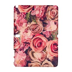 Gorgeous Pink Roses Galaxy Note 1 by Brittlevirginclothing