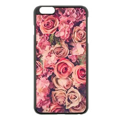 Gorgeous Pink Roses Apple Iphone 6 Plus/6s Plus Black Enamel Case by Brittlevirginclothing