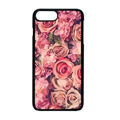 Gorgeous Pink Roses Apple Iphone 7 Plus Seamless Case (black) by Brittlevirginclothing