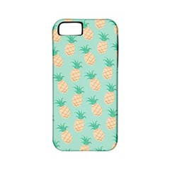 Cute Pineapple Apple Iphone 5 Classic Hardshell Case (pc+silicone)