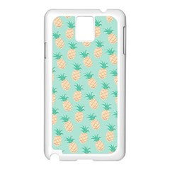 Cute Pineapple Samsung Galaxy Note 3 N9005 Case (white)