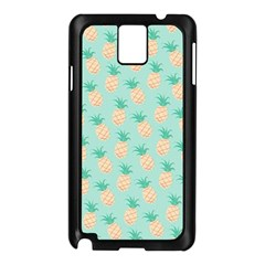 Cute Pineapple Samsung Galaxy Note 3 N9005 Case (black) by Brittlevirginclothing