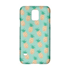 Cute Pineapple Samsung Galaxy S5 Hardshell Case  by Brittlevirginclothing