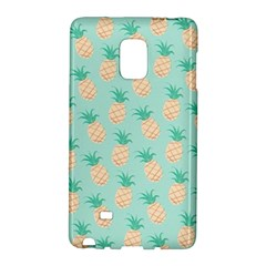 Cute Pineapple Galaxy Note Edge by Brittlevirginclothing