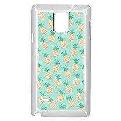 Cute Pineapple Samsung Galaxy Note 4 Case (white)