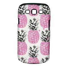 Cute Pink Pineapple Samsung Galaxy S Iii Classic Hardshell Case (pc+silicone) by Brittlevirginclothing